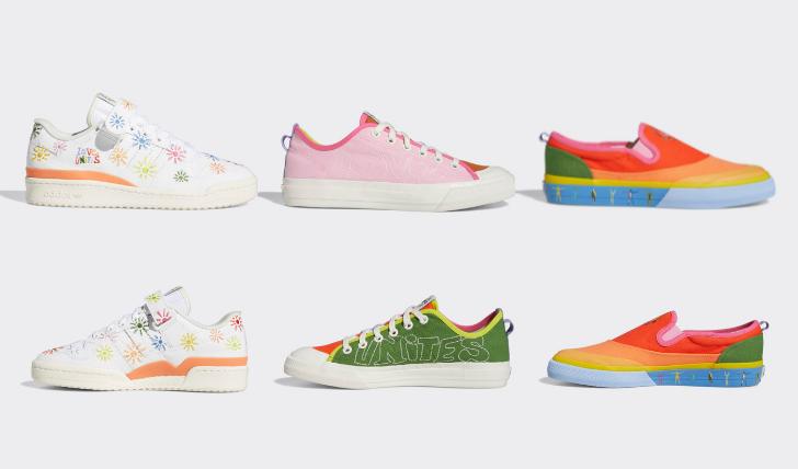 アディダス プライド月間 コレクション LGBTQ+ 2021年 adidas Pride Pack Sneakers 2021-01