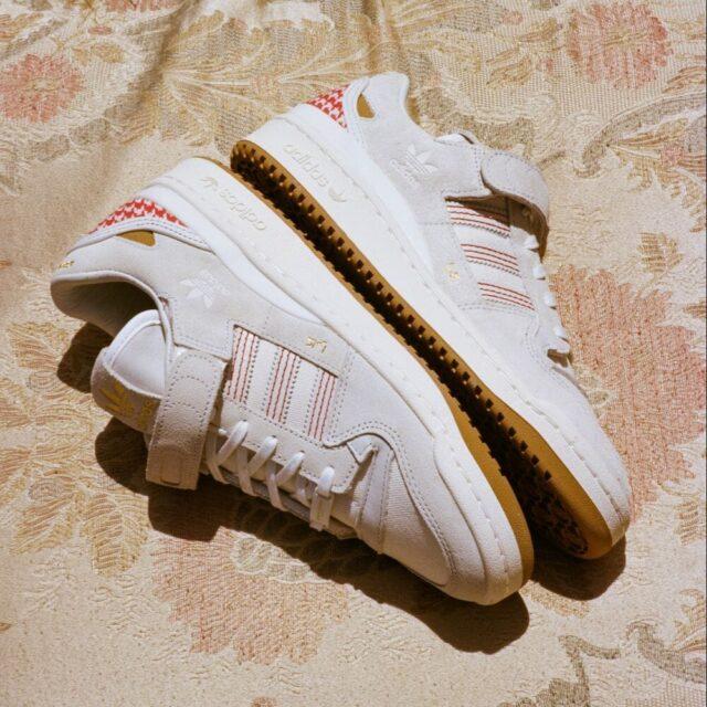 アーワ アル バナウィ × アディダス フォーラム '84 ロー adidas-arwa-forum-84-low-G58260-look-3