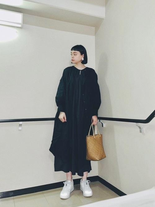 休日フェミニンコーデ karhu-sneakers-recommendation-style-feminin