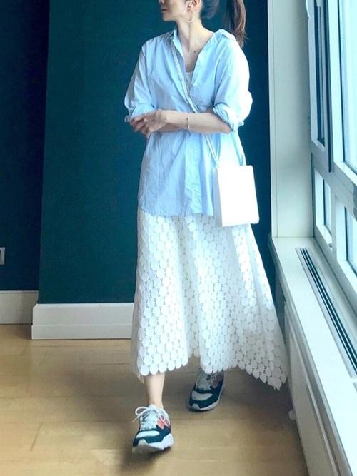 抜け感きれいめコーデ karhu-sneakers-recommendation-style-kireime