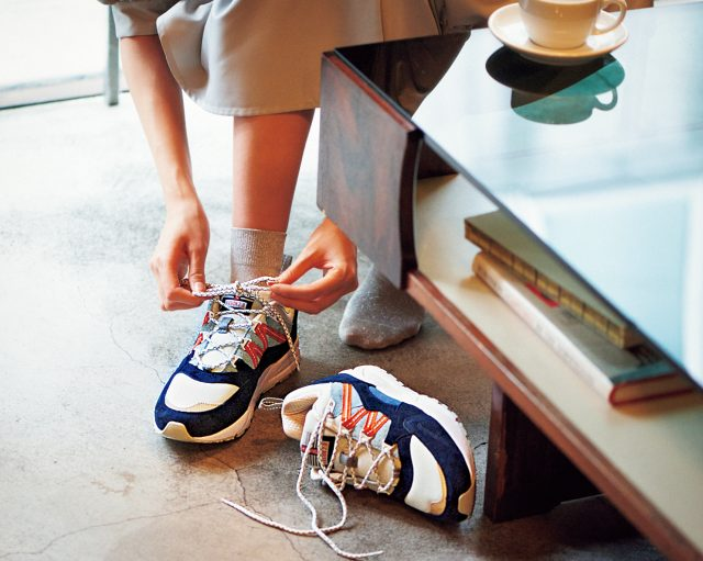 実力派ブランド「カルフ」は大人女子にもおすすめ karhu-sneakers-recommendation-style-on-feet