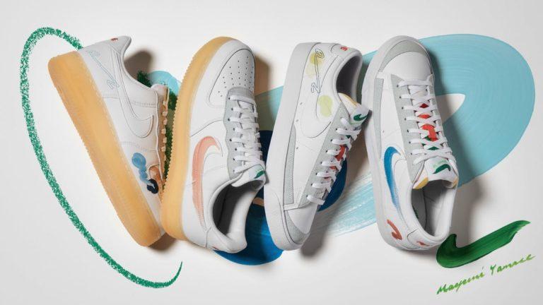 5月19日発売【Nike × 山瀬まゆみ Air Force 1 & Blazer Low Flyleather】