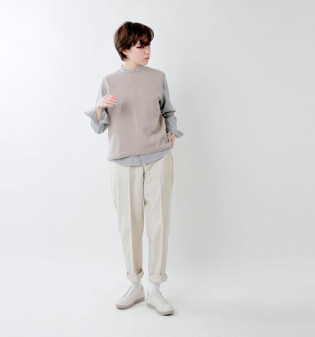 大人カジュアルコーデ moonstar-810s-sneakers-style-casual-coordinate