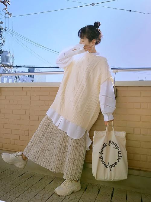フェミニン淡色コーデ moonstar-810s-sneakers-style-feminin-pastel-color-coordinate