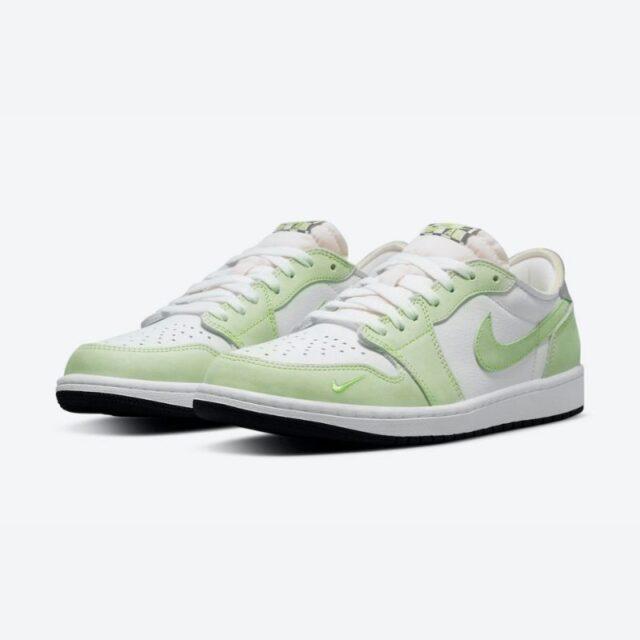 "Air Jordan 1 Low OG ""Ghost Green"" White/Ghost Green-Black CZ0790-103 main pair"