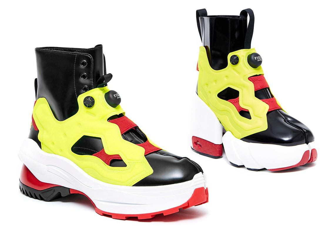 ポンプリューリーx「タビ」ブーツ tabi-sneakers-trend-Maison-Margiela-Reebok-Instapump-Fury-boots