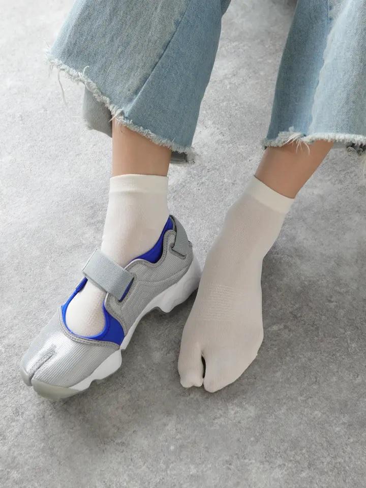 「足袋スニ―カー」には足袋型ソックス! tabi-sneakers-trend-tabi-socks
