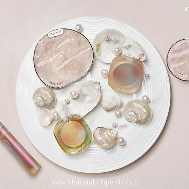 ジューシー 中国コスメ 貝殻 シリーズ Joocyee Chinese Cosmetics Shell Collection