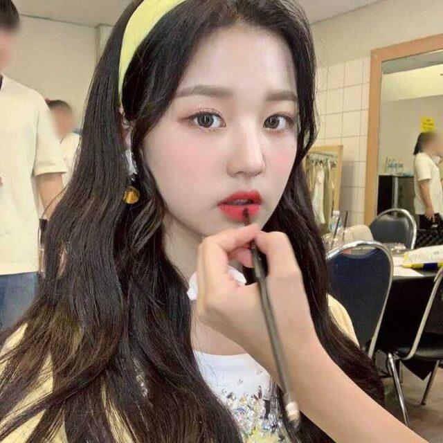 韓国アイドル 担当 メイクアップアーティスト ウォニョン アイズワン Kpop Makeup Artists IZONE ok_ouioui instagram