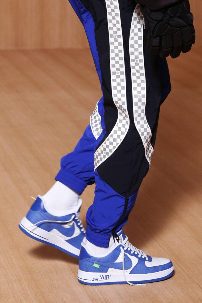 ルイヴィトン ナイキ コラボ ヴァージル アブロー 2021年 春夏 メンズ コレクション Louis Vuitton Nike Virgil Abloh Air Force 1 2022SS-01
