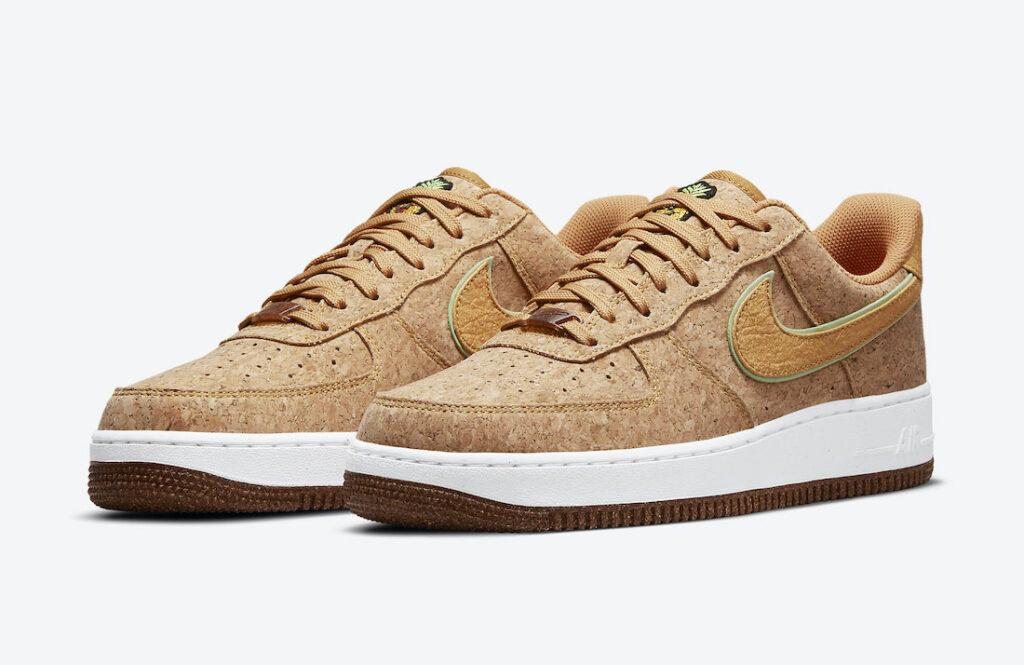 """7月24日発売【Nike Air Force 1 Low """"Pineapple Cork""""】"""