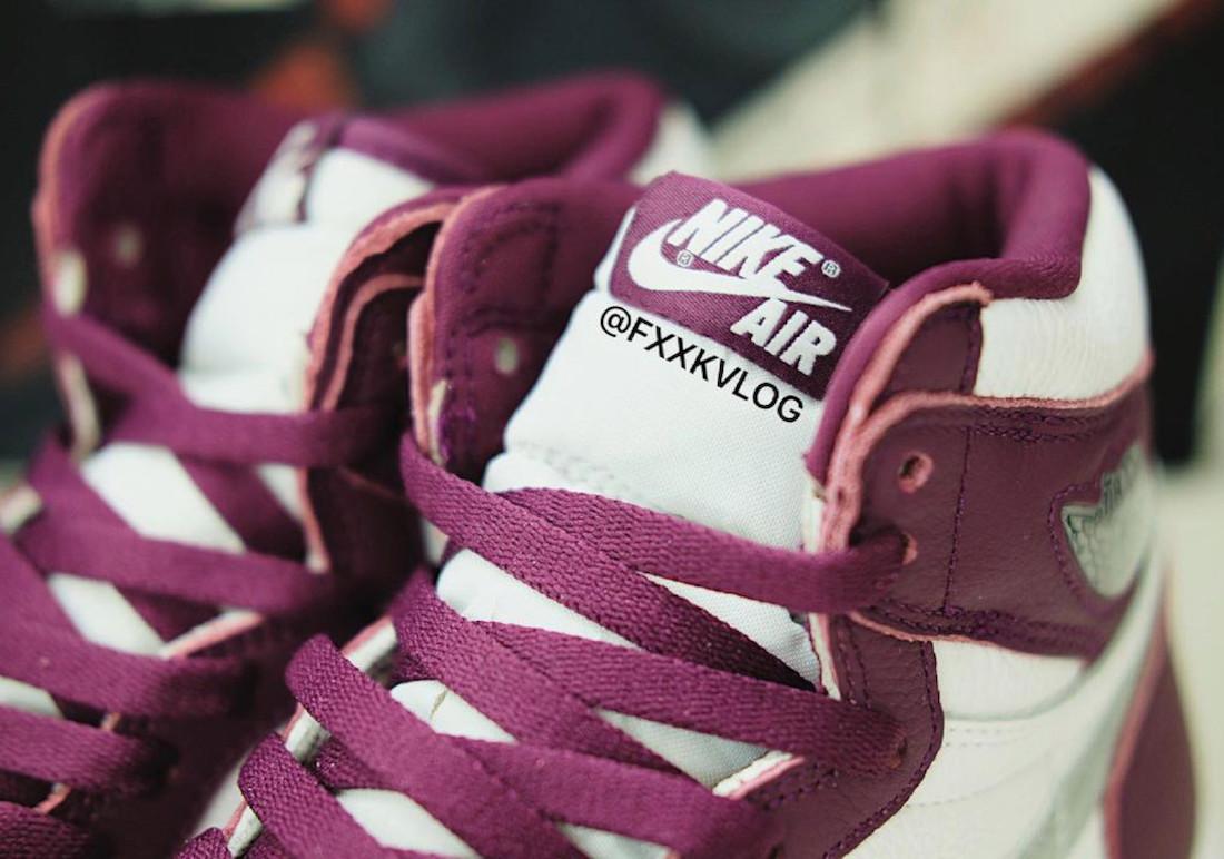 """ナイキ エア ジョーダン 1 ハイ OG """"ボルドー"""" Nike-Air-Jordan-1-Hi-Bordeaux-555088-611-look-3"""