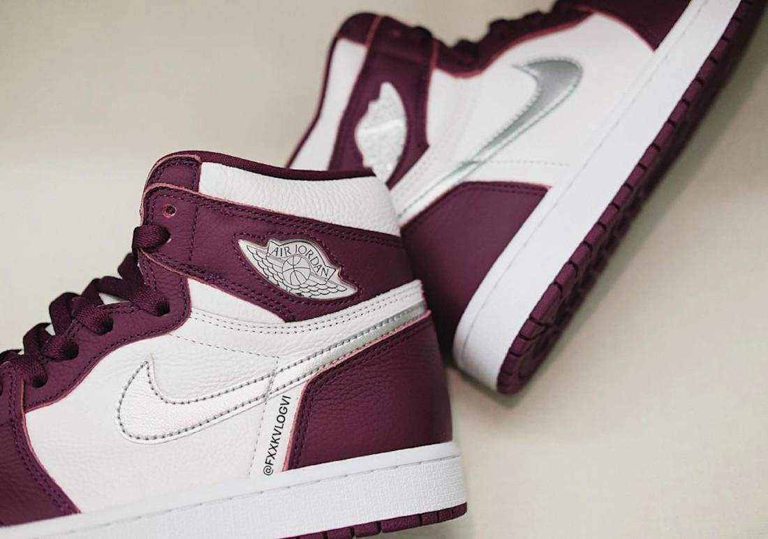 """ナイキ エア ジョーダン 1 ハイ OG """"ボルドー"""" Nike-Air-Jordan-1-Hi-Bordeaux-555088-611-look-4"""