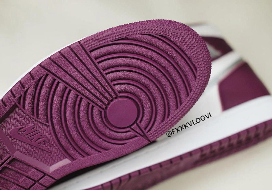 """ナイキ エア ジョーダン 1 ハイ OG """"ボルドー"""" Nike-Air-Jordan-1-Hi-Bordeaux-555088-611-look-6"""