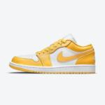 """ナイキ エア ジョーダン 1 ロー """"マスタード イエロー"""" Nike-Air-Jordan-1-Low-Mustard-Yellow-553558-171-eyecatch"""