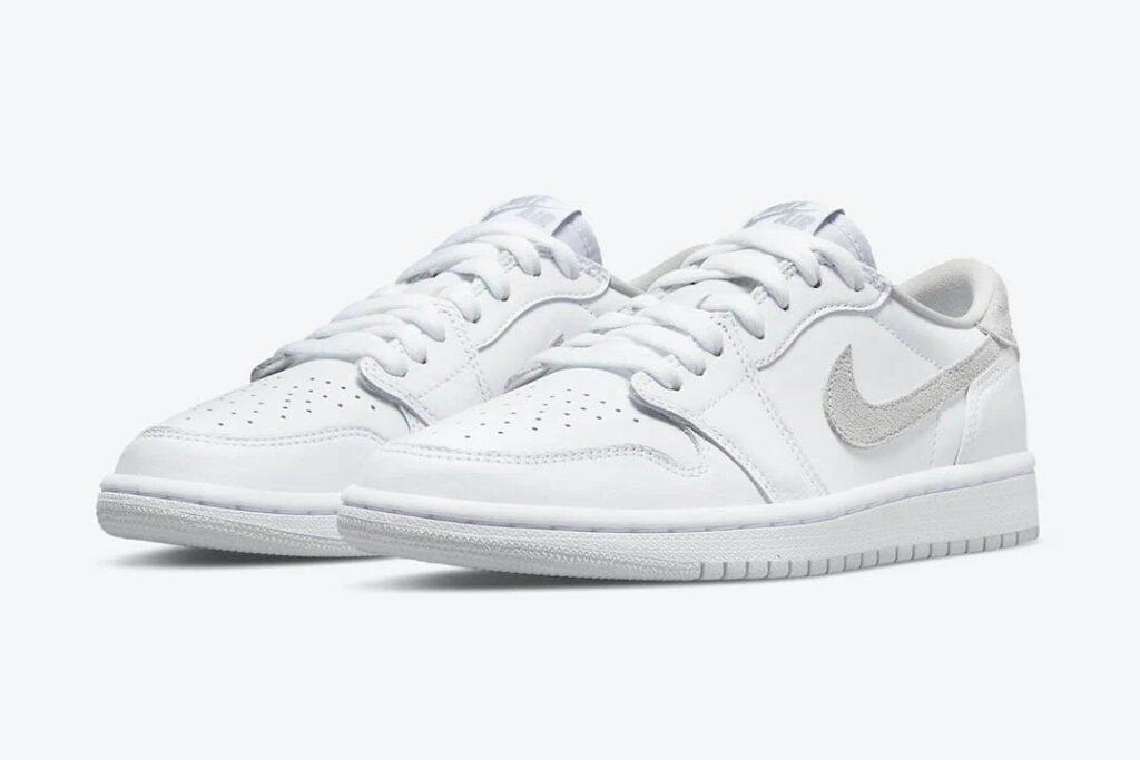 "6月24日発売【Nike WMNS Air Jordan 1 Retro Low OG ""Neutral Grey""】"