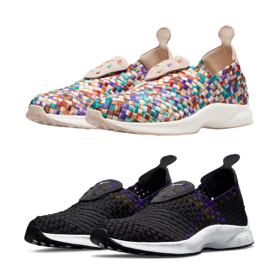 """8月6日,13日発売【Nike Air Woven """"Fossil Stone"""" & """"Black/Purple""""】"""