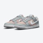 ナイキ ウィメンズ ダンク ロー / ピンク & グレー Nike-Dunk-Low-Pink-Grey-DM8329-600-pair official