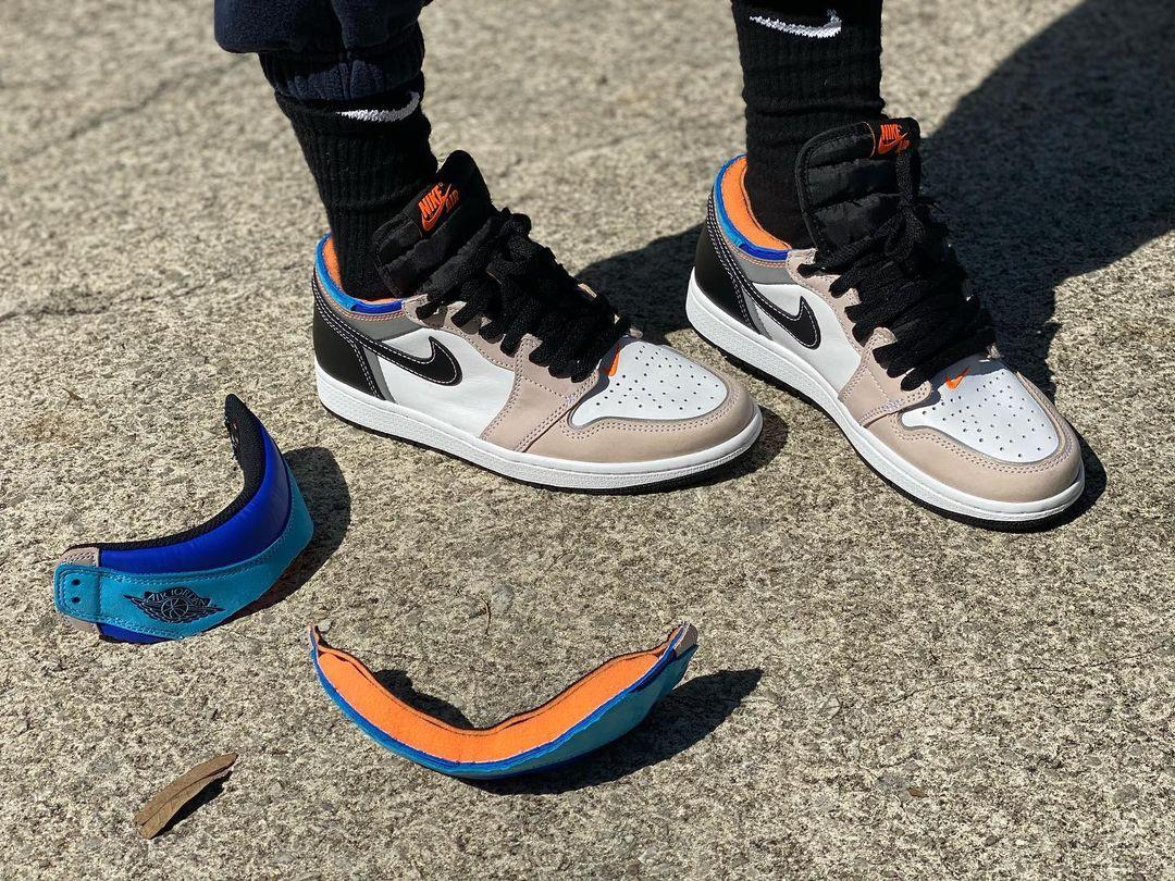 """ナイキ ジョーダン ブランド エア ジョーダン 1 ハイ OG """"プロトタイプ"""" Nike-Jordan-Brand-Air-Jordan-1-High-OG-Prototype-DC6515-100-on-feet-2"""