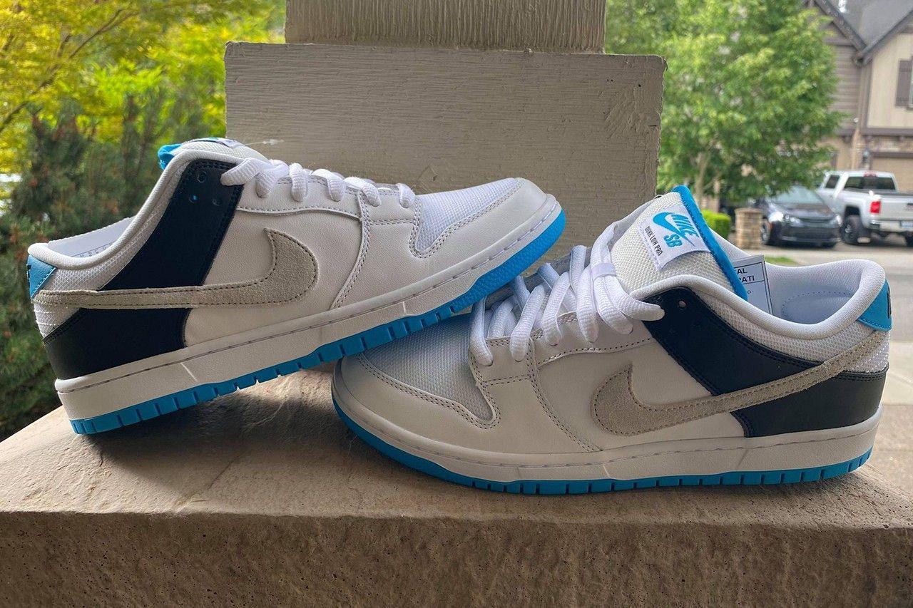 """ナイキ SB ダンク ロー """"レーザー ブルー"""" Nike-SB-Dunk-Low-Laser-Blue-look-pair-2"""