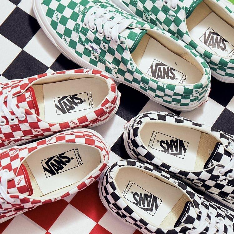 """6月26日発売【Vans Vault OG Era LX """"Checkerboard""""】"""