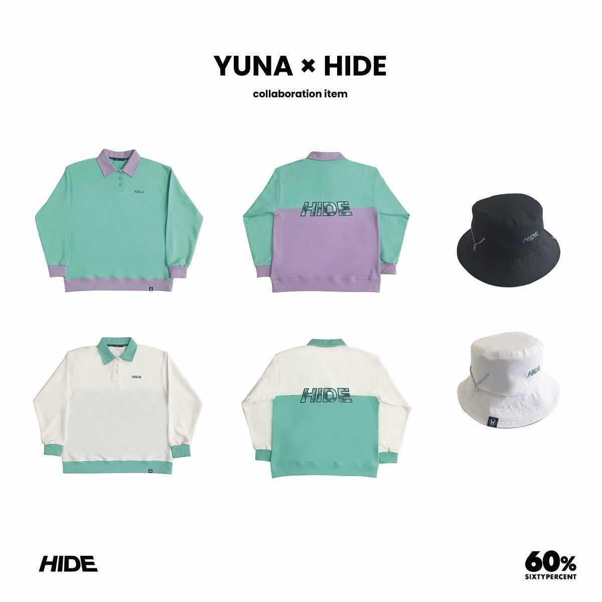 ユナ ハイド コラボレーション 60% 通販 商品 Yuna Hide collaboration item sixty percent