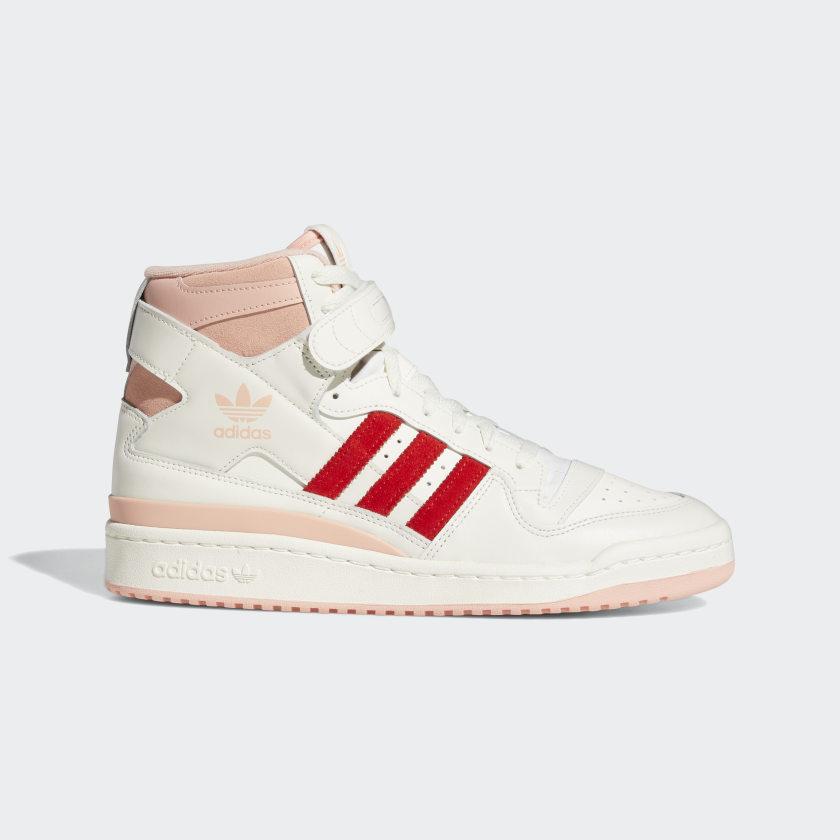 アディダス フォーラム 84 ハイ / ピンク グロー & ビビッド レッド adidas_Forum_84_Hi_pink_red_H01670_side
