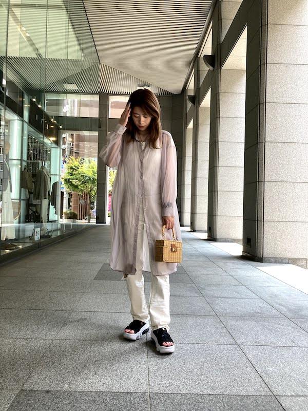エア マックス ココ コーデ シャツワンピース air_max_koko_style_ideas_dress_shirt