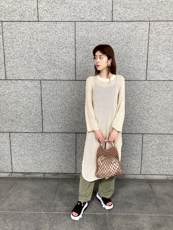 エア マックス ココ コーデ メッシュワンピース air_max_koko_style_ideas_mesh_dress