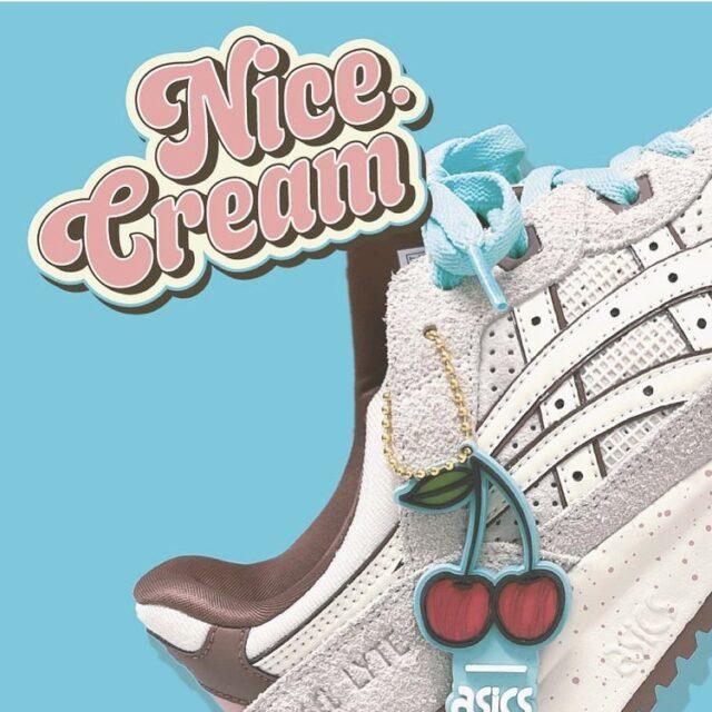 """アシックス ゲルライト Ⅲ × ナイス キックス """"ナイス クリーム"""" nice-kicks-asics-gel-lyte-iii-ice-cream-eyecatch"""