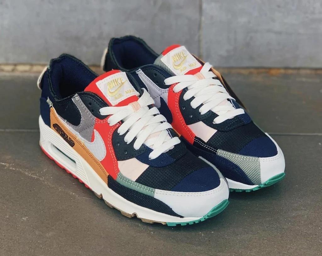"""7月14日海外発売【Nike Air Max 90 """"Scrap""""】"""