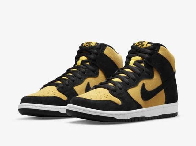 """7月2日発売【Nike SB Dunk High """"Reverse Goldenrod""""】黒x黄色を存分に楽しむSBダンク!"""