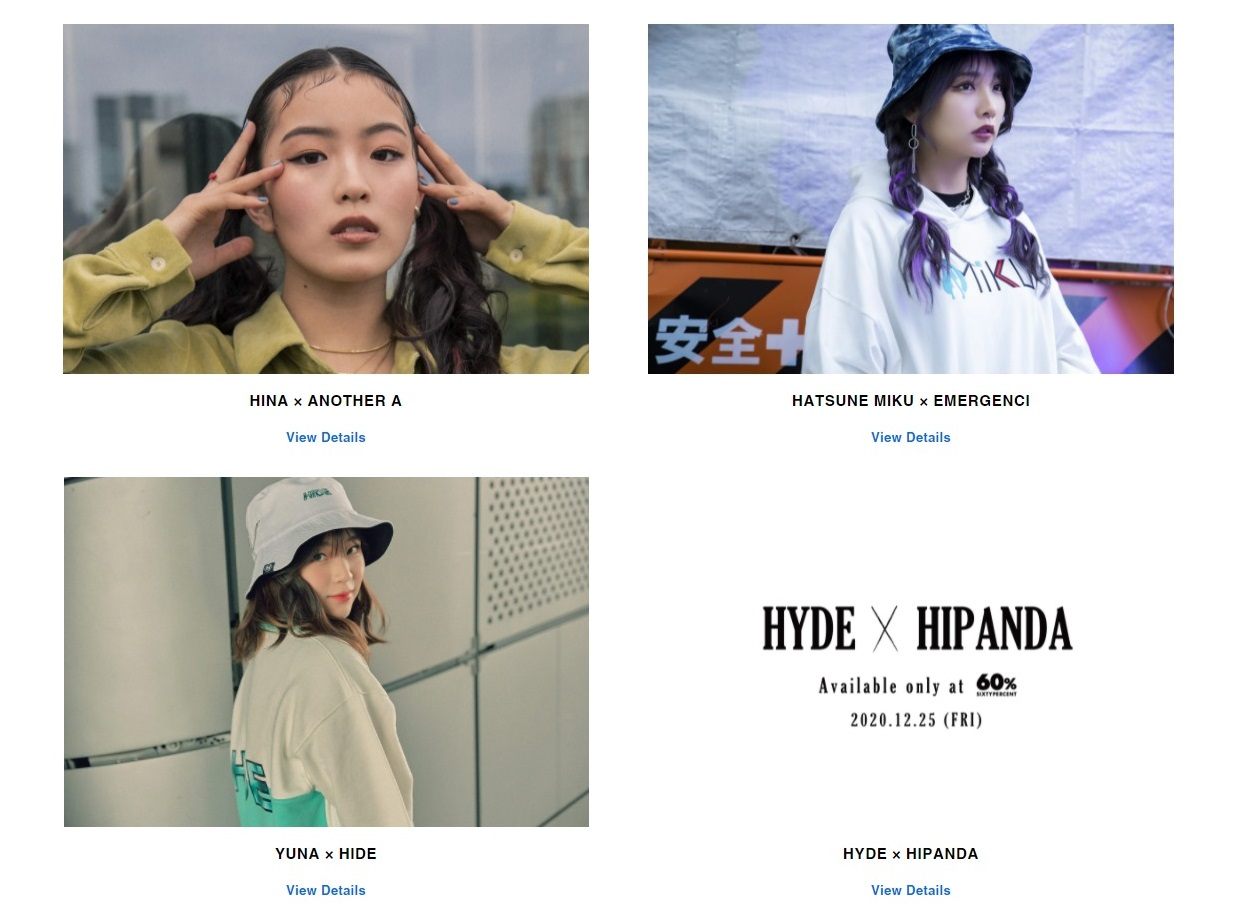 60% 通販 オンライン 限定 コラボレーション コレクション sixty-percent-asian-fashion-online-store-collaboration