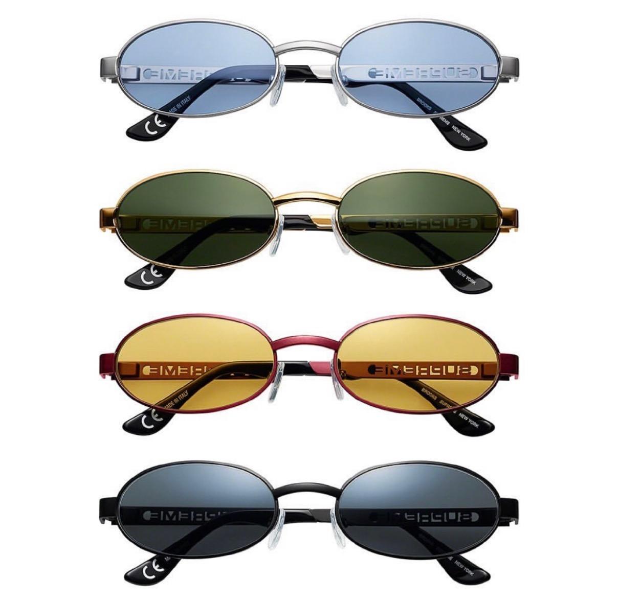 upreme 2021ss シュプリーム 2021春夏 week 17 Brooks Sunglasses