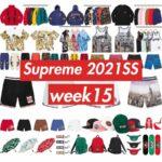 supreme 2021ss シュプリーム 2021春夏 week 15 main