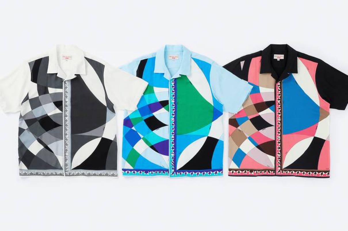 supreme 2021ss シュプリーム 2021春夏 week 16 main エミリオ・プッチ(EMILIO PUCCI) main Supreme®/Emilio Pucci® S/S Shirt