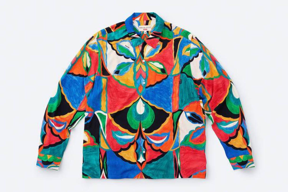 supreme 2021ss シュプリーム 2021春夏 week 16 main エミリオ・プッチ(EMILIO PUCCI) main Supreme®/Emilio Pucci® L/S Shirt