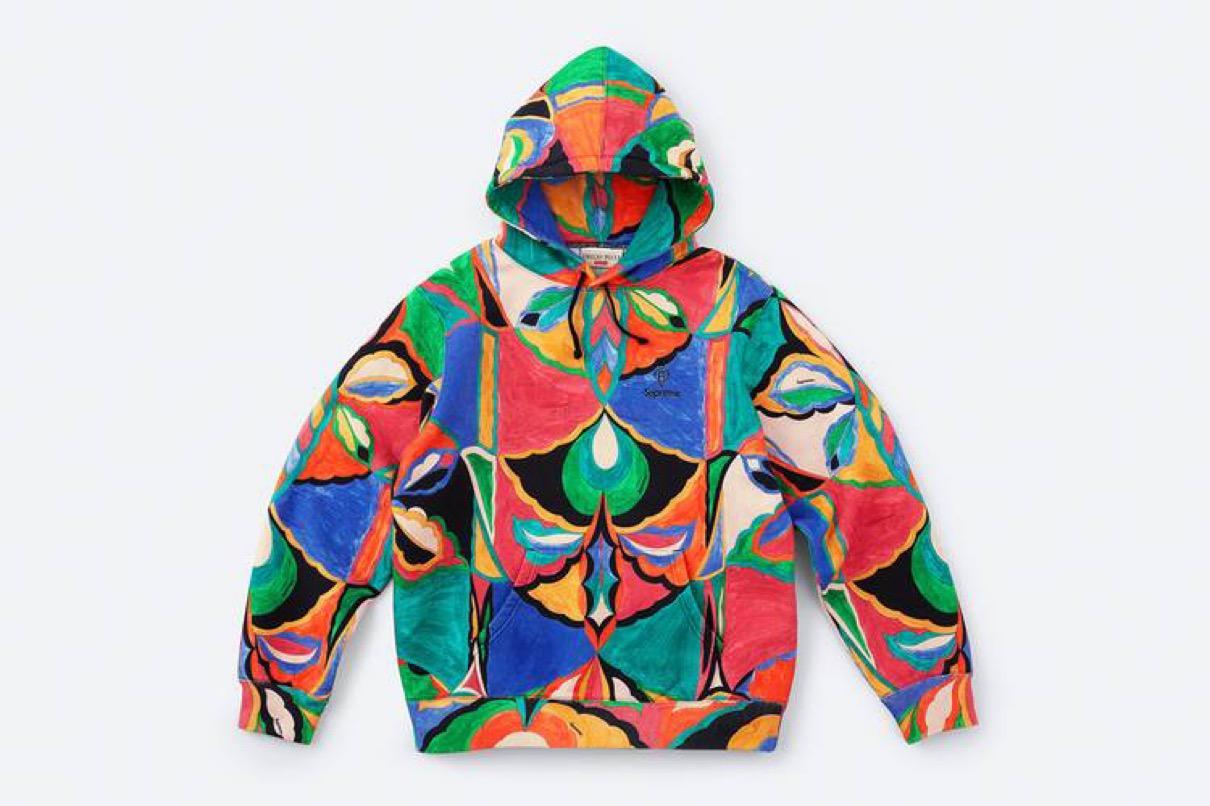 supreme 2021ss シュプリーム 2021春夏 week 16 main エミリオ・プッチ(EMILIO PUCCI) main Supreme®/Emilio Pucci® Hooded Sweatshirt