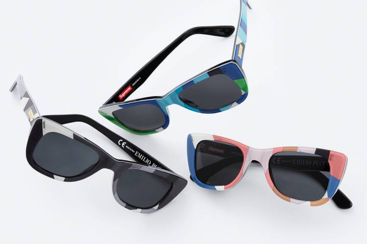 supreme 2021ss シュプリーム 2021春夏 week 16 main エミリオ・プッチ(EMILIO PUCCI) main Supreme®/Emilio Pucci® Cat Sunglasses