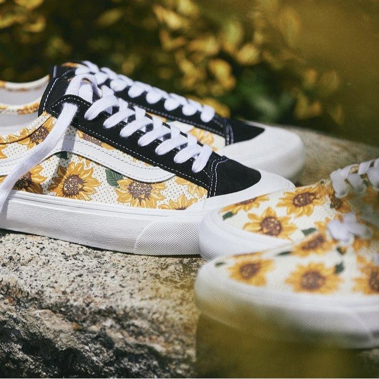 """発売中【Vans Surf Classics """"Sunflower"""" Authentic SF & Style 36 Decon SF】"""