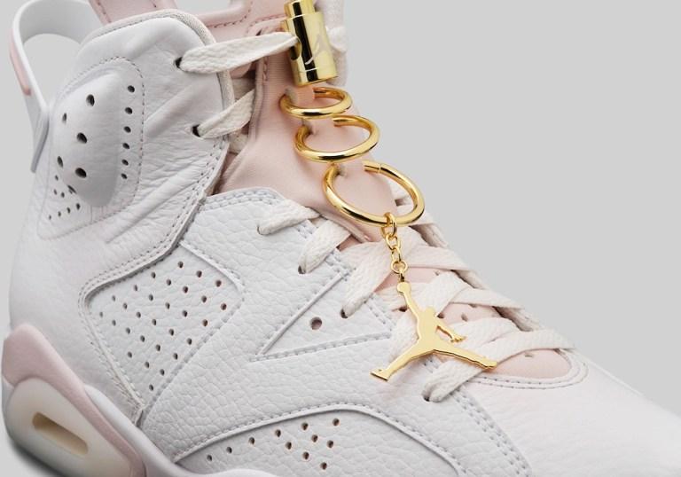 "7月1日発売【Nike WMNS Air Jordan 6 ""Gold Hoops""】"