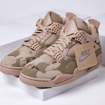 アレイリメイ ナイキ エア ジョーダン 4 コラボ Aleali-May-Air-Jordan-4-Camo-Veterans-Day-DJ1193-200-image-pair