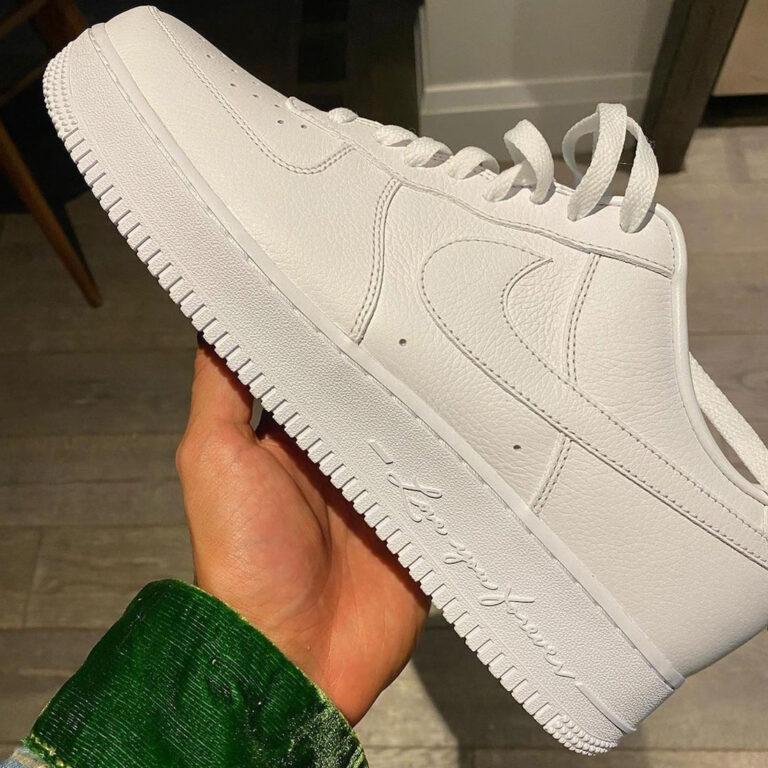 "Drake x Nike Air Force 1 Low ""Certified Lover Boy"" DA3825-100 detail"