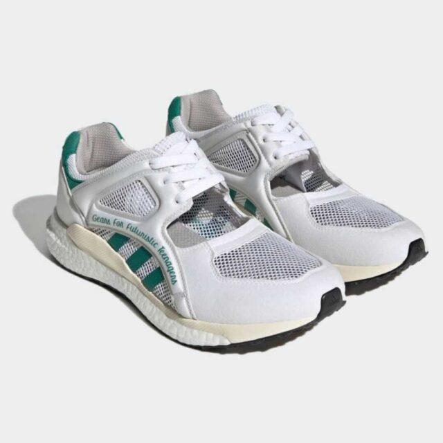 HUMAN-MADE-×-ADIDAS-ORIGINALS-EQT-RACING-HM-FOOTWEAR FOOTWEAR WHITE/SUB GREEN/CORE BLACK GX6245 main