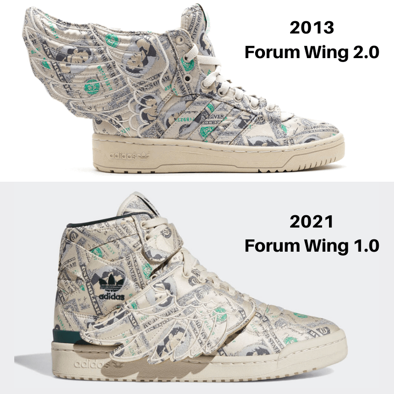 Jeremy-Scott-adidas-Forum-Wings-2.0 & 1.0-differences