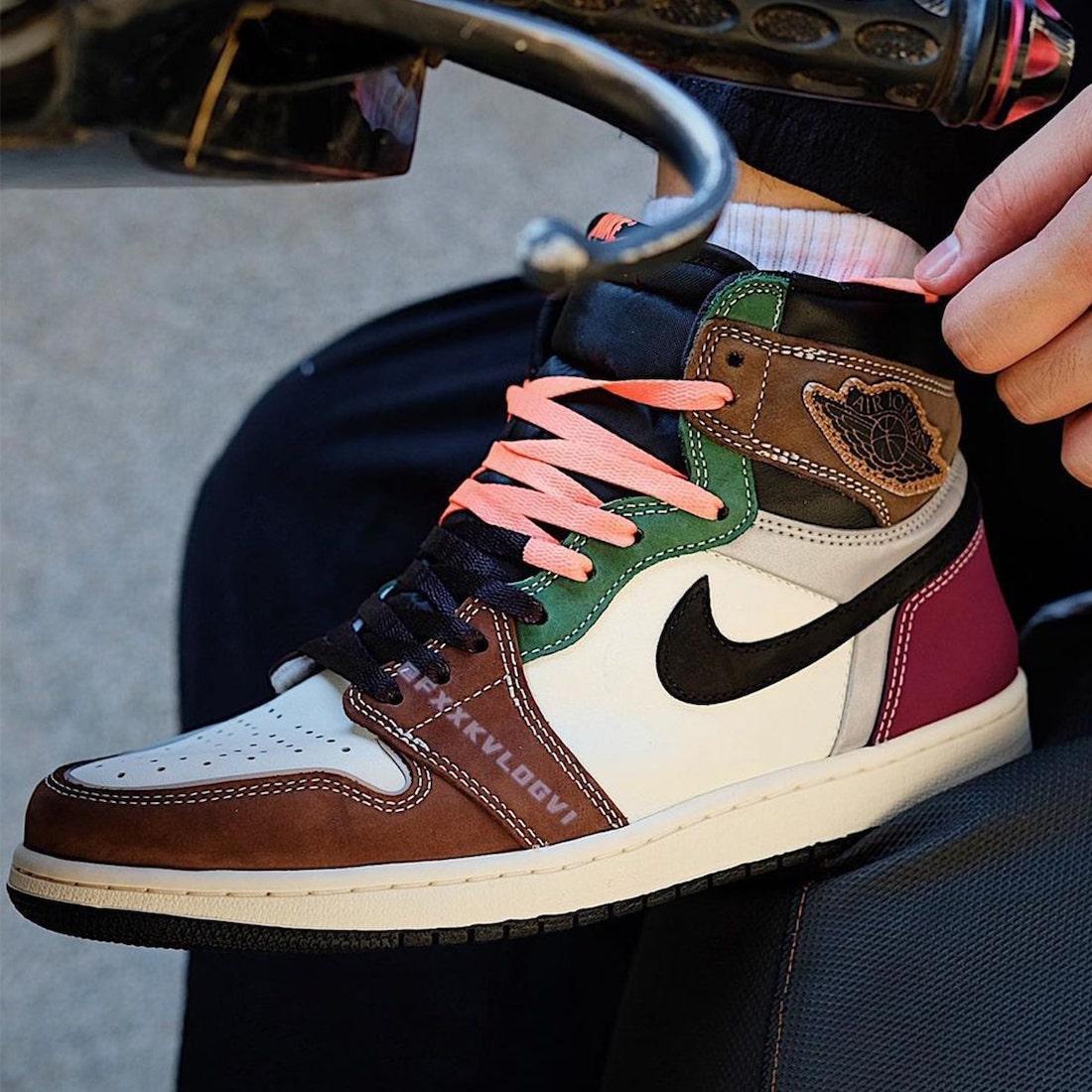 """ナイキ エア ジョーダン 1 ハイ OG """"ハンドクラフティッド"""" Nike-Air-Jordan-1-High-OG-Hand-Crafted-DH3097-001-look-1"""
