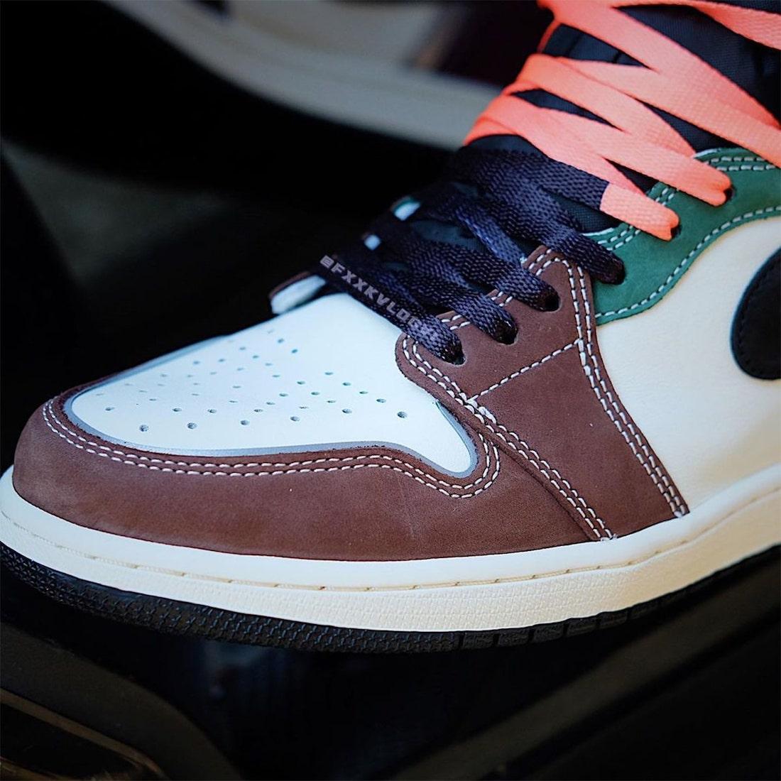 """ナイキ エア ジョーダン 1 ハイ OG """"ハンドクラフティッド"""" Nike-Air-Jordan-1-High-OG-Hand-Crafted-DH3097-001-look-4"""