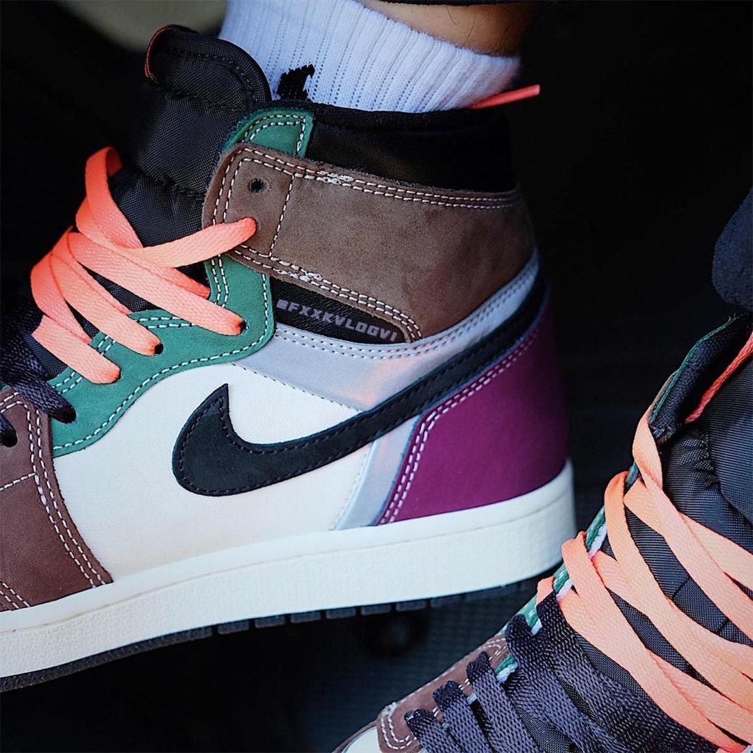 """ナイキ エア ジョーダン 1 ハイ OG """"ハンドクラフティッド"""" Nike-Air-Jordan-1-High-OG-Hand-Crafted-DH3097-001-look-5"""
