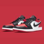 """Nike Air Jordan 1 Low """"Bred Toe"""" ナイキ エアジョーダン 1 ロー 553558-612 White/Black/University Red main"""