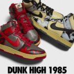 ナイキ ダンク ハイ アシッド パック ブラック レッド Nike Dunk High Acid Pack Black Red